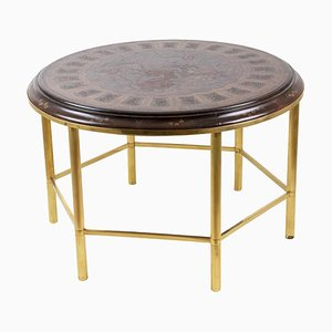 Lacquer & Gilt Bronze Coffee Table, 1950s