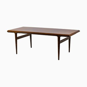Rosewood Coffee Table Attributed to Johannes Andersen, 1960s