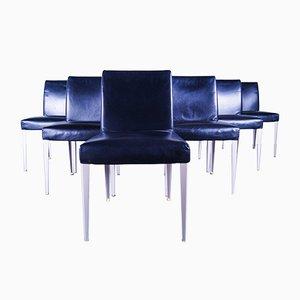Leather Melandra Chairs by Antonio Citterio by B&B Italia, 1990s, Set of 6