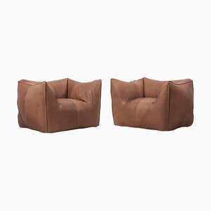 Le Bambole Lounge Chairs by Mario Bellini for B&B Italia, 1970s, Set of 2