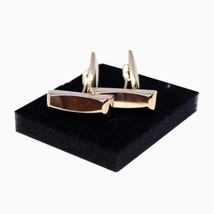 Cufflinks in 14 Karat Gold from H.S, Set of 2