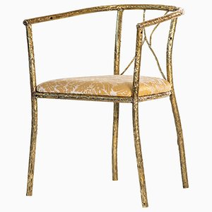 Messing Stuhl von Samuel Costantini