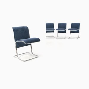 Dining Chairs by Roberto Ari Colombo for Arflex, 1970s, Set of 4