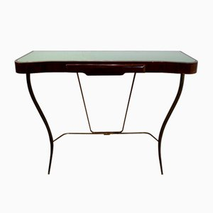 Brass Console Table, 1950s