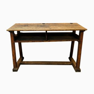 Antique French Children's School Desk