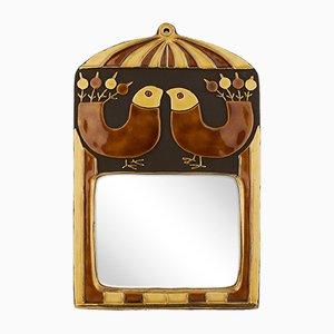 Specchio da parete Cage 2 in ceramica di Mithé Espelt, 1967