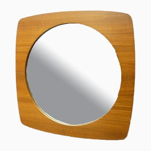 German Walnut Wall Mirror from Schönbuch, 1960s