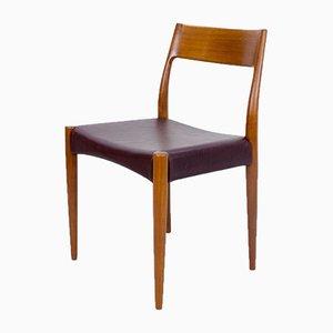 Sedie da pranzo di Arne Hovmand-Olsen per Mogens Kold, anni '60, set di 4