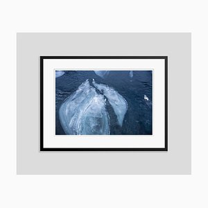 Ice River Oversize Archival Pigment Print Framed in Black by Tim Graham