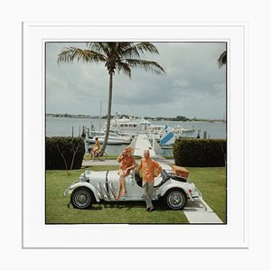 All Mine Oversize C Print Framed in White by Slim Aarons