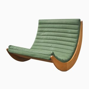 Relaxer 2 2-Seat Rocking Lounge Chair by Verner Panton for Rosenthal, 1970s