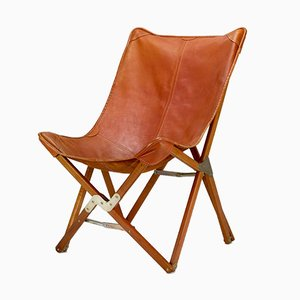Folding Bat Chair by J. Hardy, Denmark, 1970s