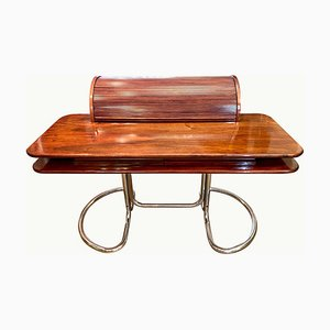 Italian Rosewood Maia Roll Top Desk by Giotto Stoppino for Bernini, 1969