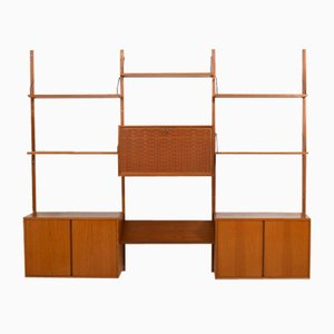 Danish Teak Royal Wall Unit by Poul Cadovius for Cado, 1960s