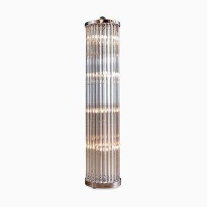Venetian Handmade Glass Prism Floor Lamp, 1950s