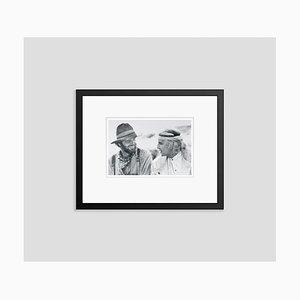 Nicholson and Brando Silver Gelatin Resin Print Framed in Black by Bettmann