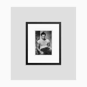 Brando 1950 Archival Pigment Print Framed in Black by Pictorial Press & Alamy Archives