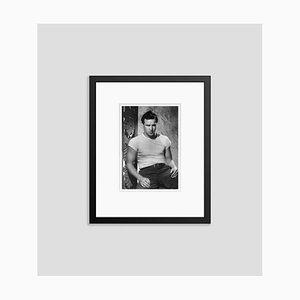 Stampa vintage di Brando 1950 con cornice nera di Pictorial Press & Alamy Archives