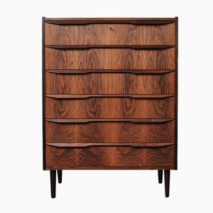 Rosewood Chest of Drawers, 1960s