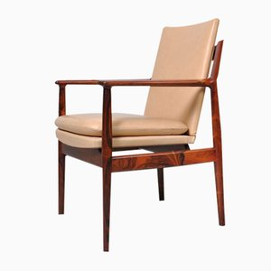 Rosewood Armchairs by Arne Vodder for Sibast, 1960s, Set of 2