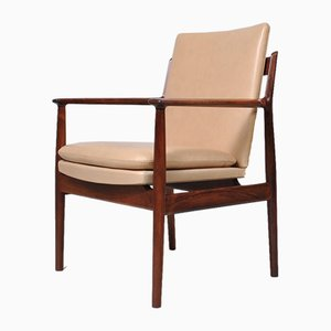 Rosewood Desk Chair by Arne Vodder for Sibast, 1960s