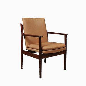 Chaise de Bureau en Palissandre par Arne Vodder pour Sibast, 1960s