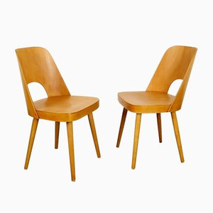 Dining Chairs by Oswald Haerdtl for TON, 1960s, Set of 2
