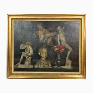 Antique Painting by Parachini Charles Achilles