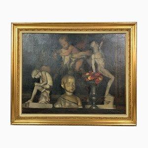 Pintura antigua de Parachini Charles Achilles