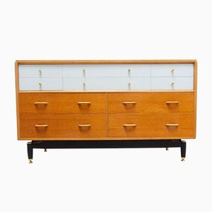 Mid-Century China White Chest of Drawers from G-Plan