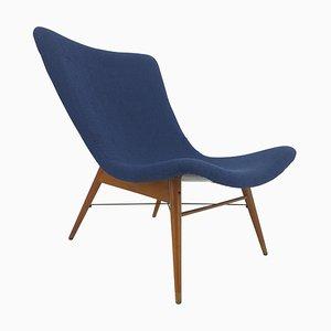 Mid-Century Lounge Chair by Miroslav Navrátil for Interiér Praha, 1962
