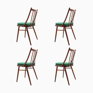 Mid-Century Dining Chairs by Antonín Šuman, 1966, Set of 4