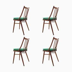 Mid-Century Esszimmerstühle von Antonín Šuman, 1966, 4er Set
