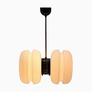 Lámpara colgante Mid-Century de Napako, años 70
