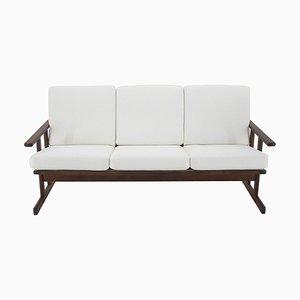 Shaker 3-Seat Sofa by Børge Mogensen for FDB Mobler, Denmark, 1950s