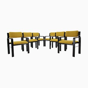 Dining or Office Chairs by Ludvik Volak, 1960s, Set of 6