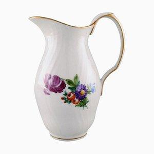 Royal Copenhagen Light Saxon Flower Jug in Hand-Painted Porcelain