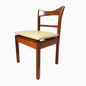 Mid-Century Danish Bespoke Teak Dining Chairs, Set of 6