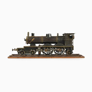 Antique Steam Locomotive Model