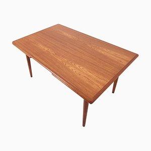 Tavolo da pranzo AT-312 in quercia di Hans J. Wegner per Andreas Tuck, Danimarca, anni '50