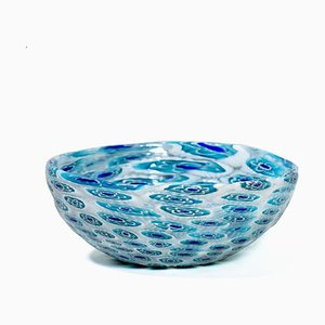 Italian Murrine Glass Bowl, 1950s