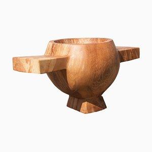 Einzigartiges Sculpted Gefäß aus Eschenholz von Jörg Pietschmann