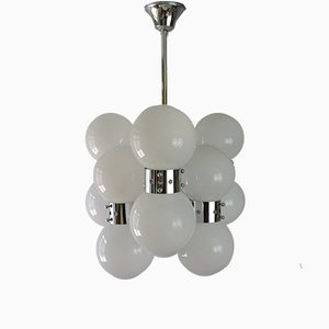 Chandelier by Carlo Nason for Mazzega, 1970s