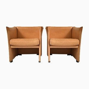 Lounge Chairs by Mario Bellini for Cassina, 1970s, Set of 2