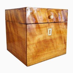 Caja Biedermeier de madera, década de 1820