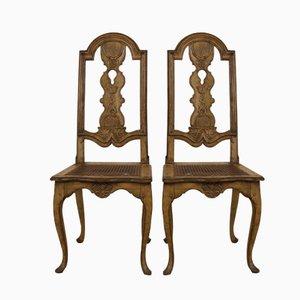 Chaises Baroques Antique, Suède, Set de 2