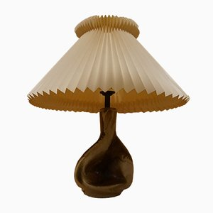 Vintage Table Lamp with Le Klint Lamp Shade