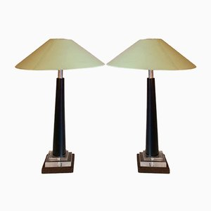 Table Lamps, 1940s, Set of 2