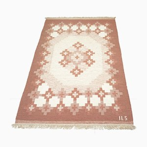 Mid-Century Swedish Kilim Carpet from ILS