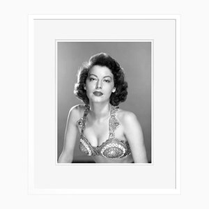 Glamorous Ava Archival Pigment Print Framed in White by Everett Collection